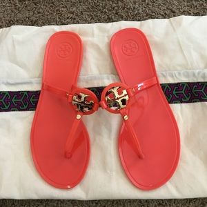 Tory Burch poppy mini Miller jelly thong sandals